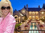 Hiding out in style: The Aspen mansion where John Edwards' mistress Rielle Hunter (pictured) was ensconced during the 2008 presidential campaign has been put on the market for $20million