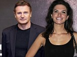 Revealed: The pretty PR executive who captured Liam Neeson's heart... for a couple of weeks