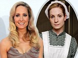 From dowdy to dazzling: How Downton Abbey maid Joanne Froggatt wowed Hollywood over Emmys weekend