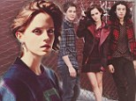 Sultry Emma Watson leans on her school girl image for magazine photo shoot ... but she's a long way from Hermione Granger