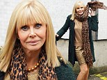 Still a blonde Bond-shell: Former 007-girl Britt Ekland still looks the part as she steps out for James Bond's 50th anniversary