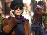 Seize the Day: Meg Ryan's pageboy cap and incognito style are reminiscent of Newsies