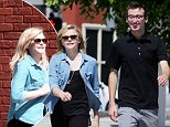 Chloe Grace Moretz on a lunch date with a mystery man