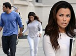Eva Longoria and her boyfriend Mark Sanchez