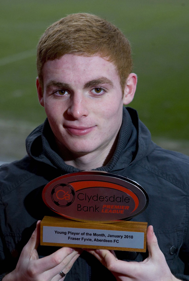 Clydesdale Bank Premier League Young Player of the Month for January