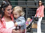 Bethenny Frankel and daughter Bryn look chic as they enjoy a stroll in New York City