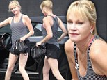 Melanie Griffith is still a leggy lady at 55... as she puts her pins on parade in tiny shorts