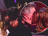 Smooches on the dance floor: Kirstie Alley kisses partner Maksim AND host Tom Bergeron on all-star season premiere of Dancing With The Stars'