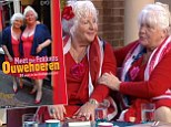 Identical twins Louise and Martine Fokken appeared on This Morning today to talk about their 50 year careers as prostitutes