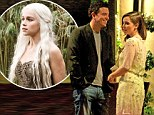 Game Of Thrones star Emilia Clarke's hotel rendezvous with Family Guy creator Seth MacFarlane... before pair 'go public' at Emmys