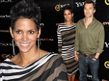 It's Olivier's time to shine: Halle Berry goes for low-key glamour as she support fiance Martinez at Cybergeddon premiere