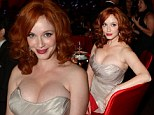 That's how you get over an Emmy loss: Christina Hendricks lets her hair down at Governor's Ball