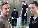 Actor Ryan Gosling begins filming his new film with co-star Rooney Mara for an untitled Terrence Malick Project