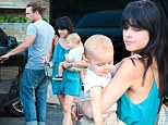 Selma Blair spotted out with her mystery man