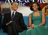 President Barack Obama and first lady Michelle Obama appear on the ABC Television show ìThe Viewî in New York, Monday, Sept. 24, 2012