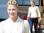 Fashion plate: Ali Larter dresses smart and casual on her shopping trip to Barneys New York in Beverly Hills