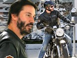 A laid back Keanu Reeves indulges in some retail therapy amid rumours that his comeback project 47 Ronin is in jeopardy
