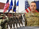 Shroud of secrecy: Brigadier General Jeffrey A Sinclair has been charged with forcible sodomy after being sent home from Afghanistan to Fort Bragg, North Carolina - although few other details were made available