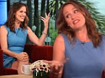 Witty Jennifer Garner jokes about her imperfect parenting skills... and why she wants to be like Brangelina