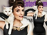 Tina Fey recreates Audrey Hepburn's iconic Breakfast at Tiffany's look for cover of Entertainment Weekly