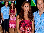 A right royal wardrobe gaffe! Kate's Solomon Islands error as she wears Cook Islands dress to cultural celebration (but the nations are 3,000 miles apart)
