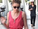 The artist and her muse: Former lovers Tasya van Ree and Amber Heard indulge in some retail therapy