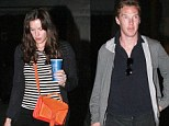 New couple alert? Benedict Cumberbatch and Liv Tyler have sparked rumours of a romance after they were seen on a cinema date on Wednesday night