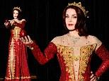 Priscilla Presley sizzles in red dress