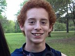 Killed: Police have identified 13-year-old Cade Poulos as the eighth grade student who allegedly shot himself in the head moments before class