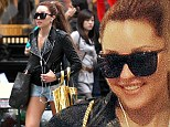 What court hearing? Amanda Bynes was pictured in New York on Wednesday