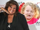 'She needs to lose weight': Dance Moms star Abbey Lee Miller pulls no punches as she blasts Honey Boo Boo, 7