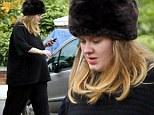 Pregnant Adele in Hove
