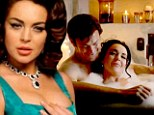 'I relate to Elizabeth Taylor on so many levels,' reveals Lindsay Lohan in new behind-the-scenes video for comeback movie Liz & Dick