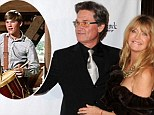 Hollywood love story: Goldie Hawn, pictured in 2010, has opened up about her romance with Kurt Russell