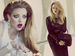 Damsel in distress! Innocent Amanda Seyfried flirts with danger as she slips into an array of racy outfits in sexy new shoot
