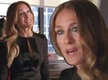 First look! Stylish Sarah Jessica Parker channels Anna Wintour as she makes her Glee debut