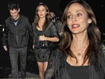 Who's the lucky man? Natalie Imbruglia steps out hand-in-hand with mystery companion