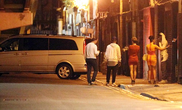 Transportation: After leaving Sakura nightclub, a mini-van pulls up to ferry the Balotelli party back to his house