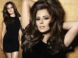 She's definitely worth it! Cheryl Cole glams it up as she shows off her glossy locks for new L'Oreal campaign