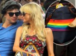 Paris Hilton shows her support for the Gay community