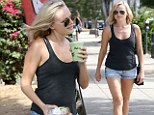 Pregnant Malin Akerman went shopping in Los Angeles on Saturday