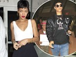 Pop Singer Rihanna was seen leaving her favorite Restaurant