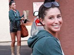 All those cha-cha-cha moves have paid off! Bristol Palin looks slender at Dancing With The Stars rehearsals