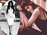 Just like Kim: Kylie Jenner, 15, tweets glamorous and gritty black-and-white portraits of herself
