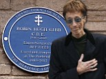Robin Gibb's home given blue plaque to celebrate the former Bee Gee