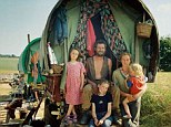 The New Gypsies: Many New Age Travellers have ditched their battered vans and motor homes and adopted traditional horse drawn caravans