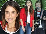 Making beautiful music together! Husband and wife duo Nikki Reed and Paul Mcdonald lend their voices to a good cause