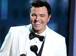 Top job: Seth MacFarlane, pictured here at the Emmy Awards on September 23, will host the Academy Awards