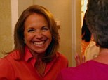 Home sweet home: Katie Couric welcomed her viewers into her own home today on the talk show host's latest Katie installment