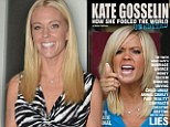 Recalled: Brutal Kate Gosselin tell-all removed from shelves over libelous allegations